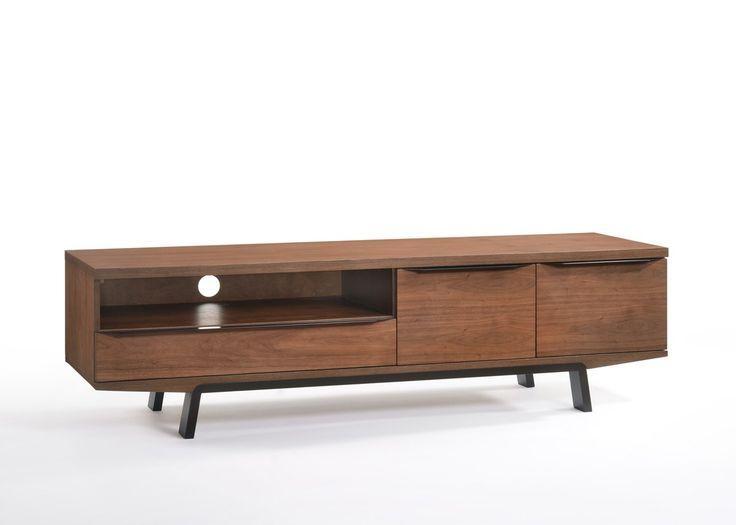 Best 25+ Walnut Tv Stand Ideas On Pinterest | Tv Tables, Tv Table In Newest Modern Walnut Tv Stands (Image 1 of 20)