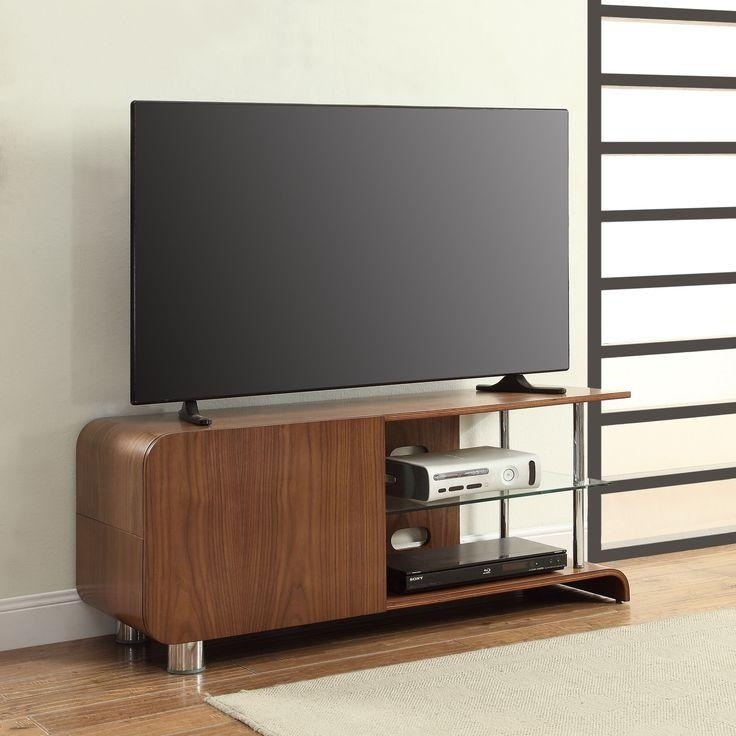 Best 25+ Walnut Tv Stand Ideas On Pinterest | Tv Tables, Tv Table Inside Most Up To Date Walnut Tv Cabinets With Doors (Image 2 of 20)