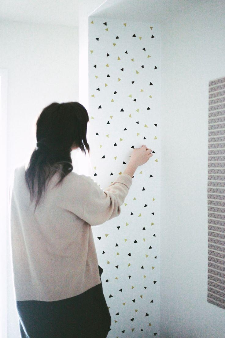 Best 25+ Washi Tape Wall Ideas On Pinterest | Washi Tape Wallpaper Within Duct Tape Wall Art (Photo 19 of 20)