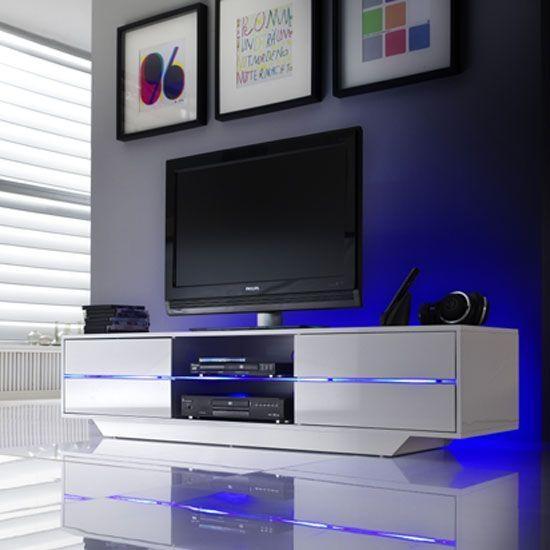 Best 25+ White Gloss Tv Unit Ideas On Pinterest | Black Gloss Tv For Latest White High Gloss Tv Stand Unit Cabinet (Image 5 of 20)