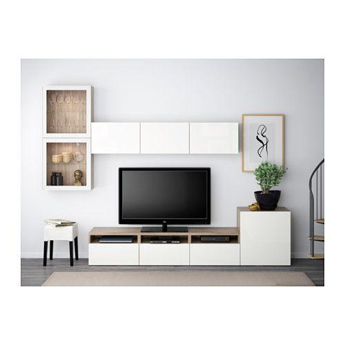 Best 25+ White Gloss Tv Unit Ideas On Pinterest | Floating Tv Regarding Best And Newest Walnut And Black Gloss Tv Unit (View 18 of 20)