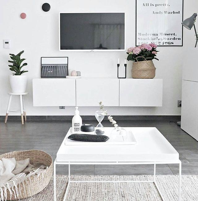 Best 25+ White Tv Ideas On Pinterest | White Tv Unit, White Tv Intended For 2018 Scandinavian Design Tv Cabinets (Image 11 of 20)