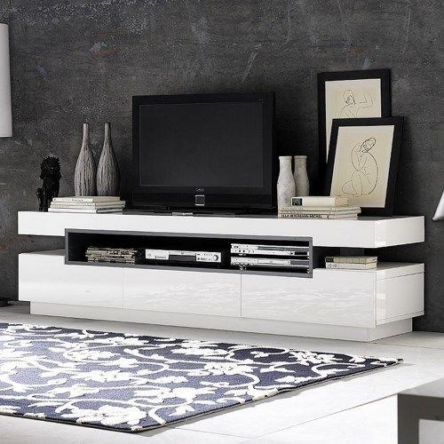 Best 25+ White Tv Unit Ideas On Pinterest | Tv Units, Ikea Tv And Inside Recent White High Gloss Tv Unit (Image 3 of 20)