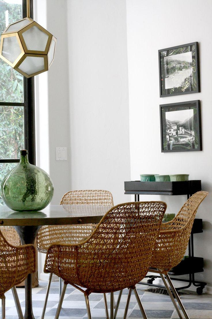 Best 25+ Wicker Dining Chairs Ideas On Pinterest | White Round In Modern Rattan Sofas (View 19 of 23)