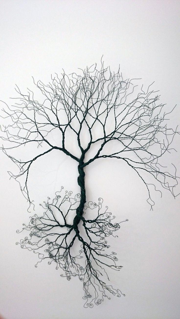 Best 25+ Wire Wall Art Ideas Only On Pinterest Inside Copper Oak Tree Wall Art (Image 4 of 20)