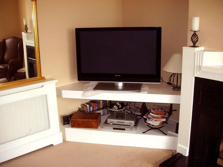 Best 25+ Wooden Corner Tv Unit Ideas On Pinterest | Wooden Tv Inside Latest White Wood Corner Tv Stands (Image 13 of 20)