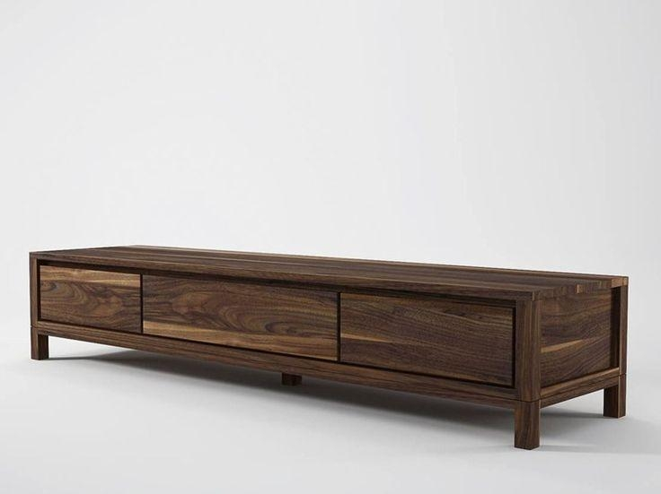 Best 25+ Wooden Tv Cabinets Ideas On Pinterest   Wooden Tv Units Regarding Most Recent Long Low Tv Stands (View 9 of 20)