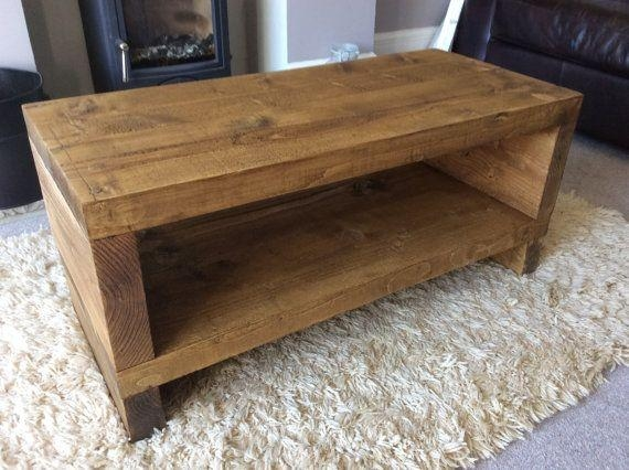 Best 25+ Wooden Tv Stands Ideas On Pinterest | Home Tv, Tv Stand intended for Recent Chunky Oak Tv Unit