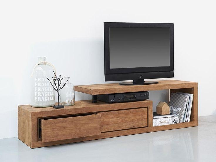 Best 25+ Wooden Tv Stands Ideas On Pinterest | Home Tv, Tv Stand With Regard To 2017 Wooden Tv Stands (Image 10 of 20)