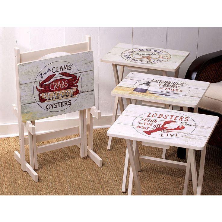 Best 25+ Wooden Tv Trays Ideas On Pinterest | Folding Tv Trays Within 2018 Folding Wooden Tv Tray Tables (Image 6 of 20)