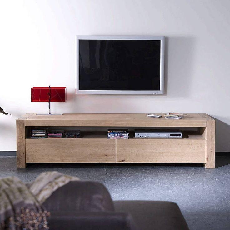 Best 25+ Wooden Tv Units Ideas On Pinterest | Wooden Tv Cabinets Inside Most Current Contemporary Oak Tv Cabinets (Image 3 of 20)