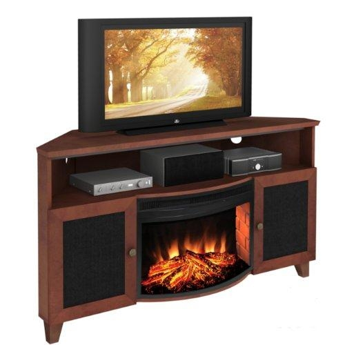 Best 60 Inch Electric Fireplace Tv Stand Under 1000 Dollars In Latest Corner 60 Inch Tv Stands (Image 7 of 20)
