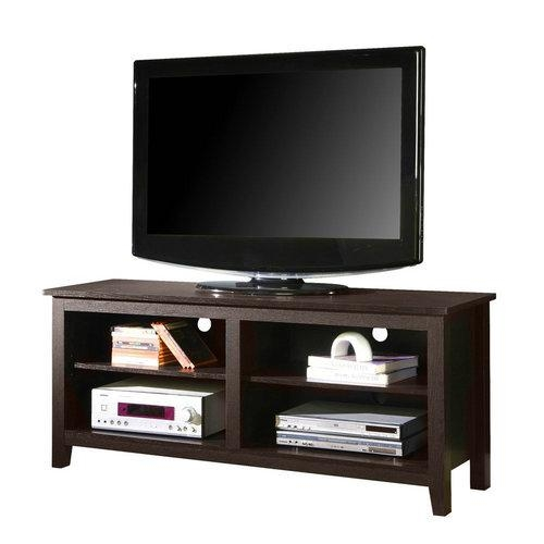Best Flat Screen Tv Stands For 55/60/70 Inch Tv:top Rated Picks Within Most Recently Released Wooden Tv Stands For 50 Inch Tv (Image 12 of 20)