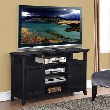Featured Image of Tall Black Tv Cabinets