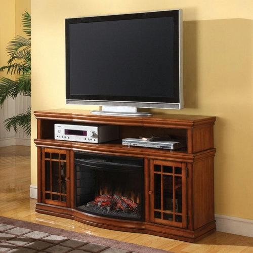 Best Tv Stand With Fireplace: Top 10 Of 2017 (Updated) Inside Best And Newest 50 Inch Fireplace Tv Stands (Image 8 of 20)