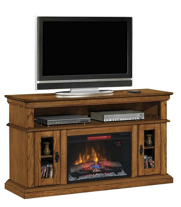 Best Tv Stand With Fireplace: Top 10 Of 2017 (Updated) Within 2018 50 Inch Fireplace Tv Stands (View 10 of 20)