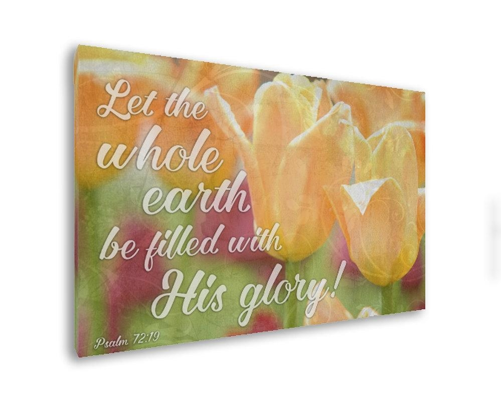 Bible Verse On Canvas Christian Wall Art Christian Canvas With Christian Wall Art Canvas (Image 5 of 20)