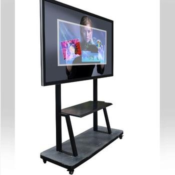 Big Size Infrared 84 Inch Lcd Interactive Tv Touch Screen With Current 84 Inch Tv Stand (Image 5 of 20)
