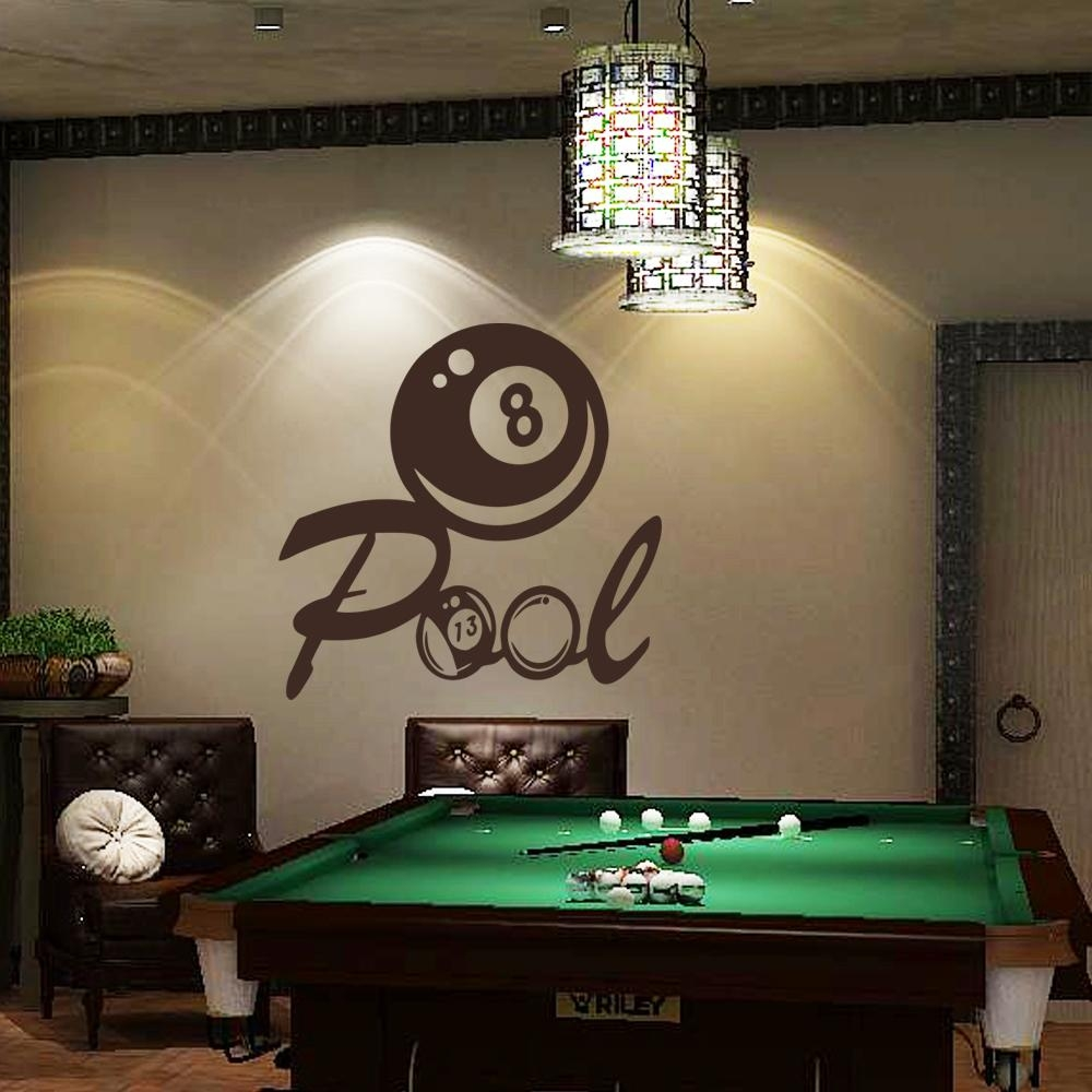 Featured Image of Billiard Wall Art