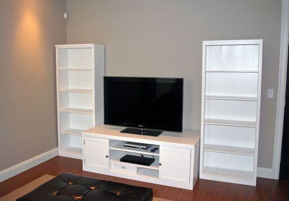 Billy Bookcase As Tv Stand – Thesecretconsul With Regard To Most Recent Tv Stands And Bookshelf (Image 5 of 20)