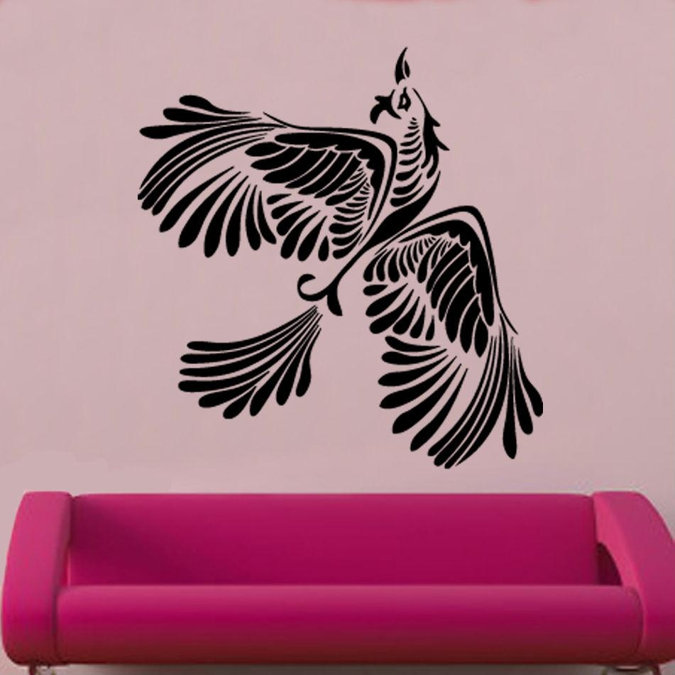 Bird And Butterfly Vinyl Wall Art »  Shop » Home With Regard To Quadrophenia Wall Art (Image 4 of 23)