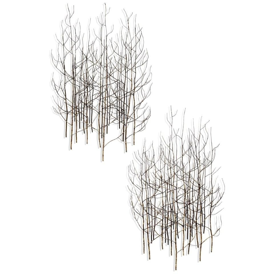 Bj Keith Metal Tree Wall Art | Ubu With Regard To Stylecraft Home Collection Wall Art (Image 6 of 20)