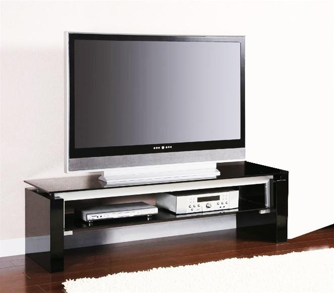 Black And Silver Tv Standcoaster – 700669 Within 2018 Silver Tv Stands (Image 7 of 20)