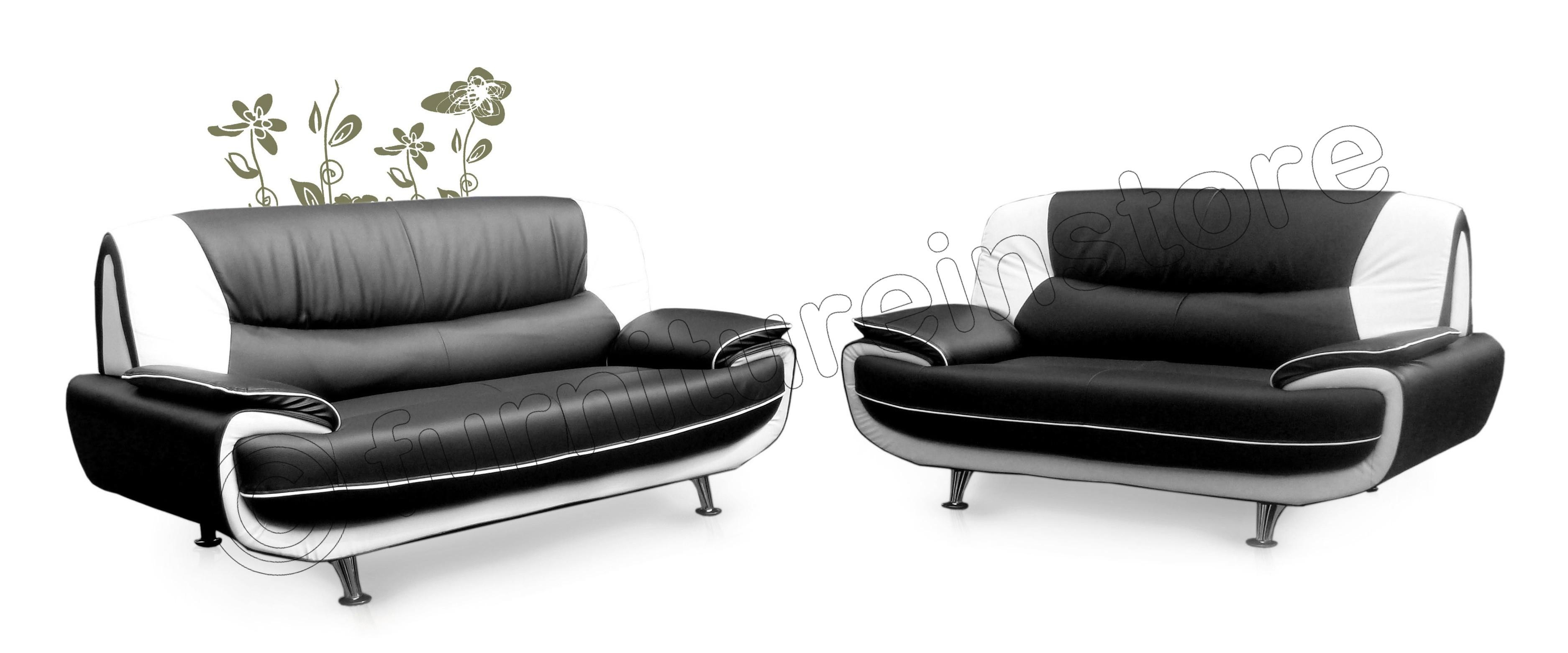 Black And White Sofa With Ideas Photo 2881 | Imonics With Regard To White And Black Sofas (Image 13 of 21)
