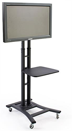 Black Lcd Stand | Sold With 19 Inch Shelf Regarding Most Current Small Tv Stands (Image 9 of 20)