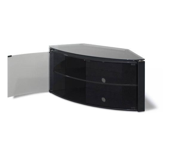 Black Tv Bench | Dream Home Designer In Most Popular Black High Gloss Corner Tv Unit (Image 4 of 20)