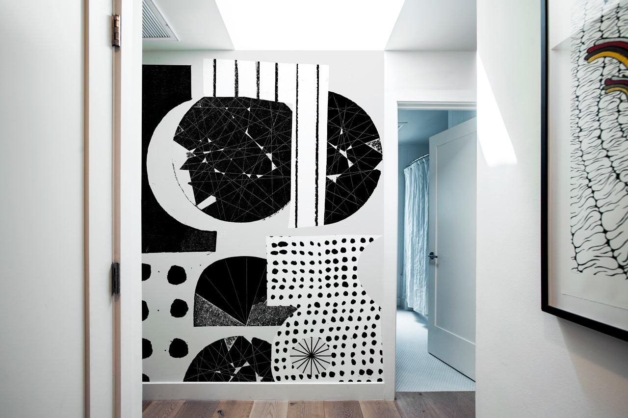 Blik Launches Oversized Graphic Wall Panels – Design Milk With Blik Wall Art (Image 8 of 20)