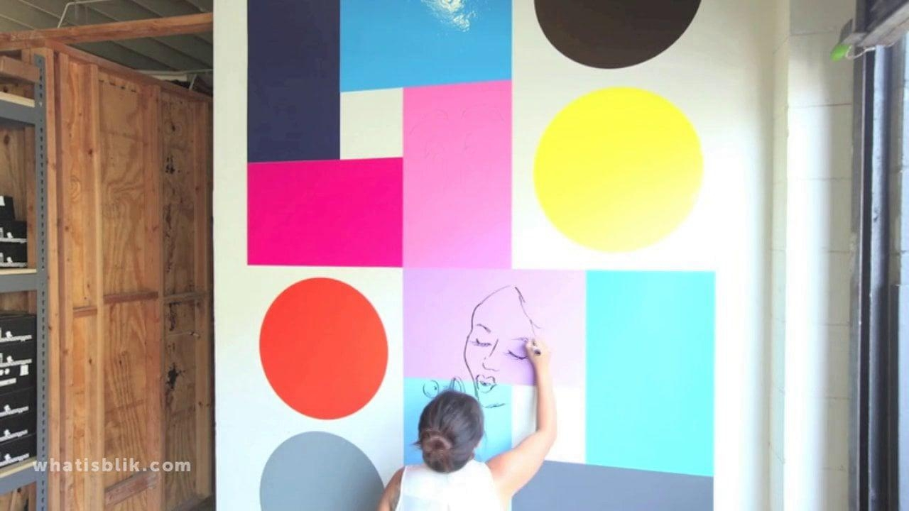 Blik Surface Graphics On Vimeo With Regard To Blik Wall Art (Image 10 of 20)