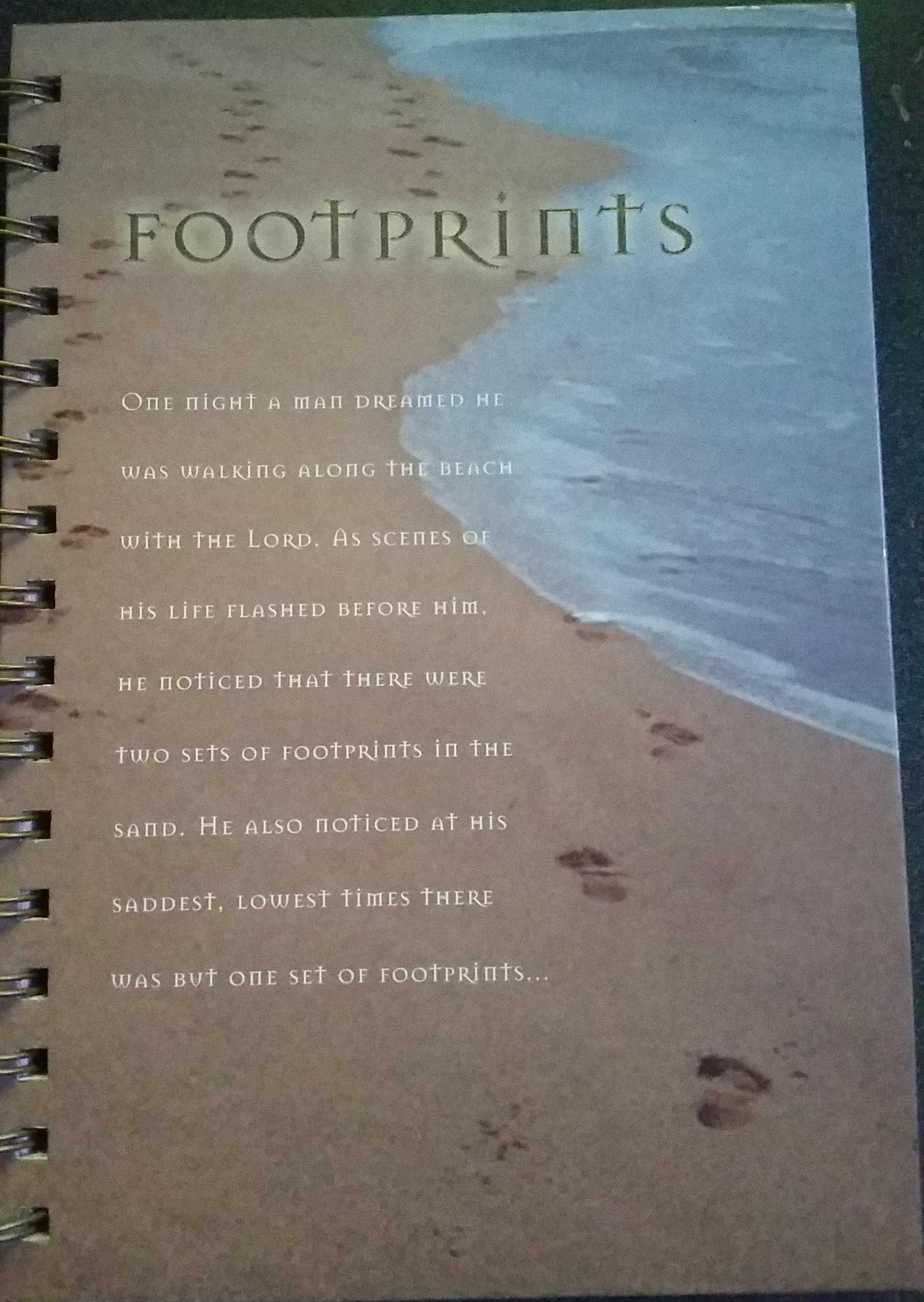 Blog – Footprints In The Sand Poem With Regard To Footprints In The Sand Wall Art (Image 2 of 20)