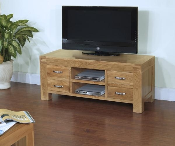 Blonde Oak Living Room Furnitureametis in Most Current Santana Oak Tv Furniture