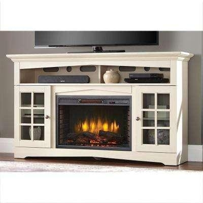 Blower – Fireplace Tv Stands – Electric Fireplaces – The Home Depot Intended For 2017 Tv With Stands (Image 8 of 20)