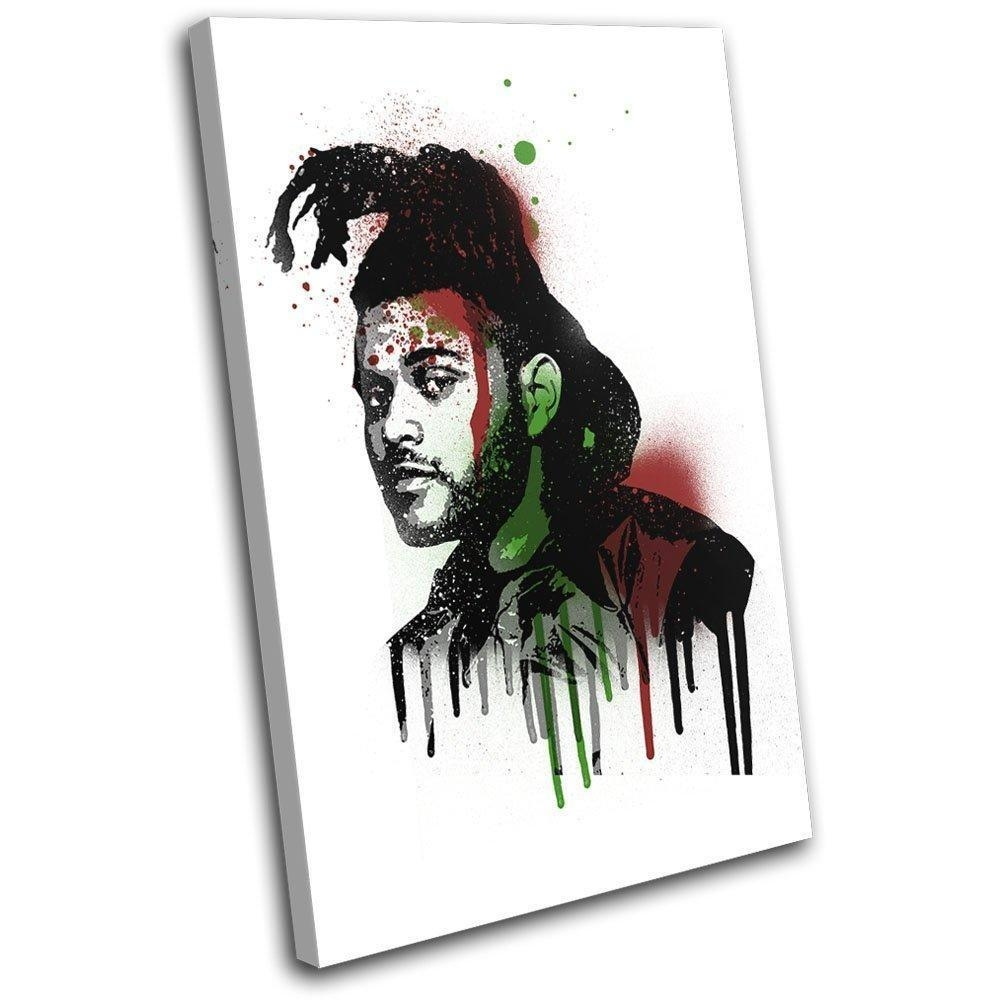 Bold Bloc Design – The Weeknd Grunge Urban Musical 135X90Cm Single With Regard To The Weeknd Wall Art (Image 5 of 20)