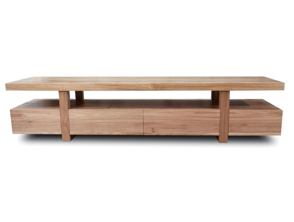 Bondi Tv Unit 2200 Tasmanian Oak | Living Elements Within Most Current Cheap Lowline Tv Units (Image 11 of 20)