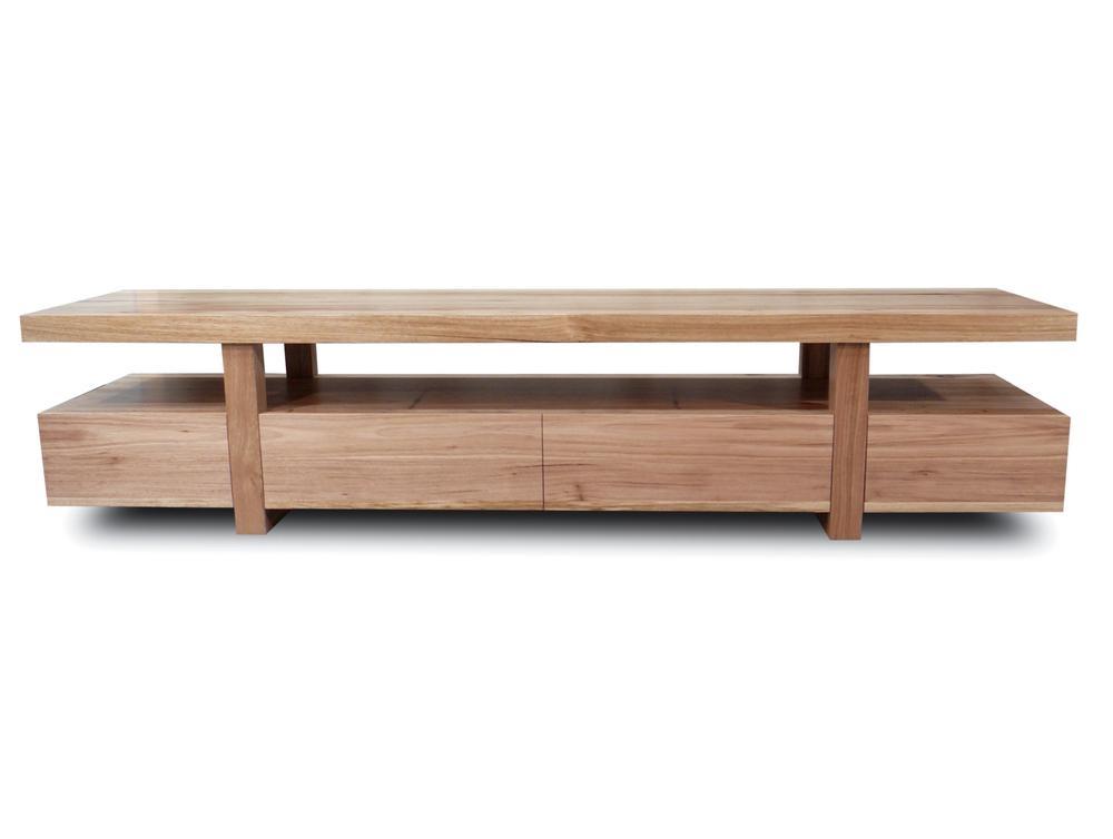 Bondi Tv Unit 2200 Tasmanian Oak | Living Elements Within Most Current Cheap Lowline Tv Units (View 7 of 20)
