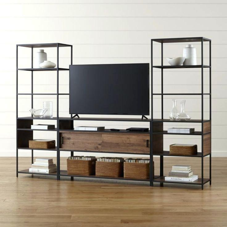 Bookcase ~ Tv Stands With Bookshelves Tv Stand With Matching Intended For Most Up To Date Tv Stands With Matching Bookcases (View 13 of 20)
