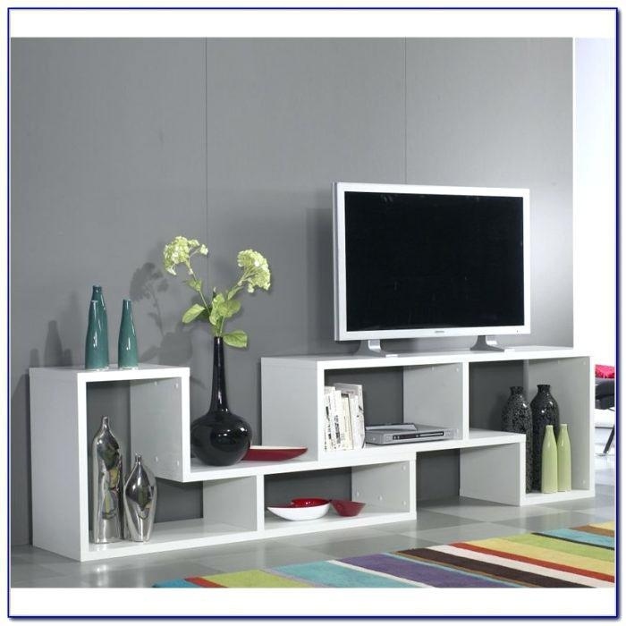Bookcase ~ White Tv Stand With Bookcase Tv Stand With Matching Throughout Most Recently Released Tv Stands With Matching Bookcases (Image 15 of 20)