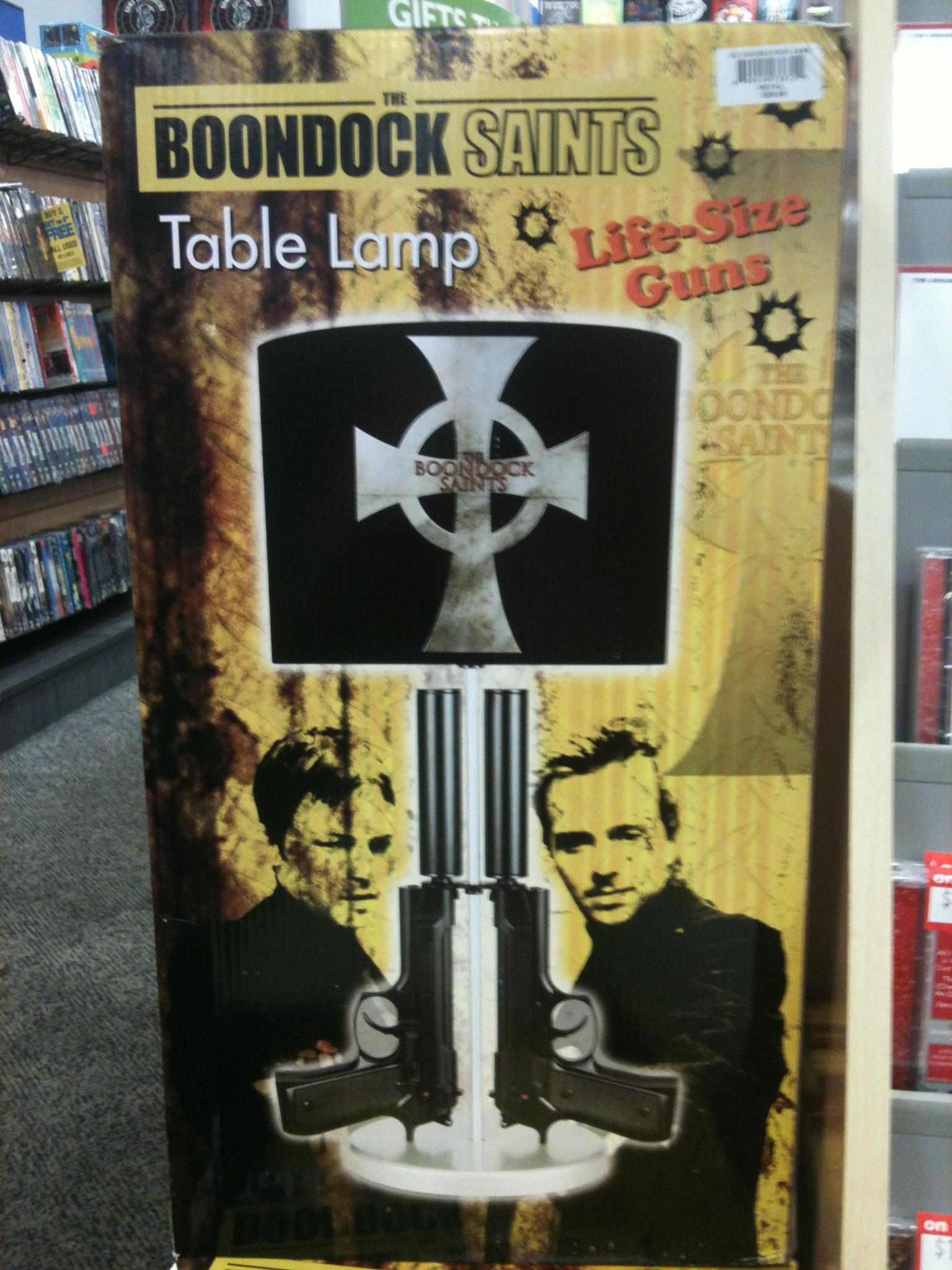 Boondock Saints Lamp – Intriguing Piece For Your Home | Warisan With Boondock Saints Wall Art (View 16 of 20)