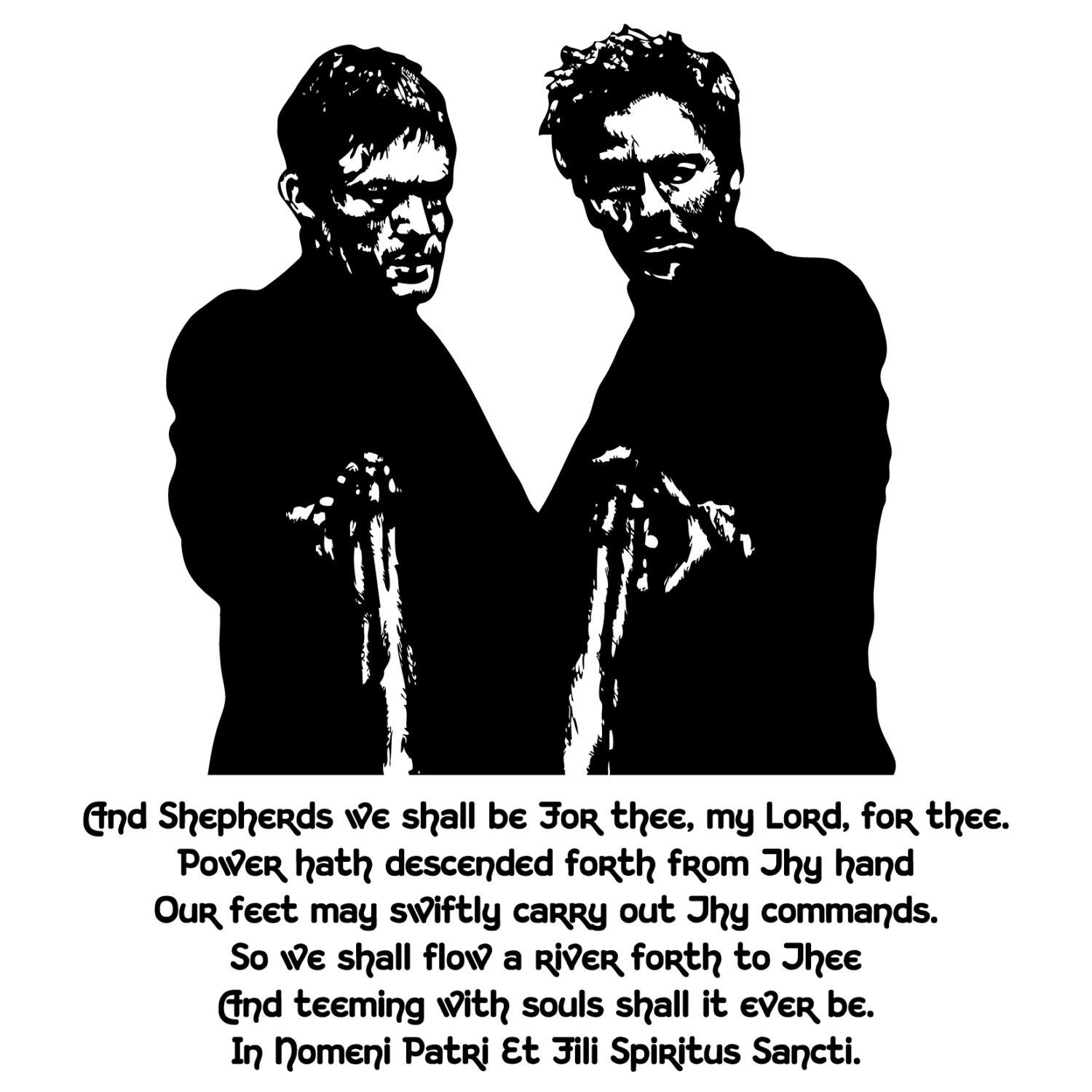Boondock Saints Prayer Vinyl Decal Wall Art For Boondock Saints Wall Art (View 7 of 20)