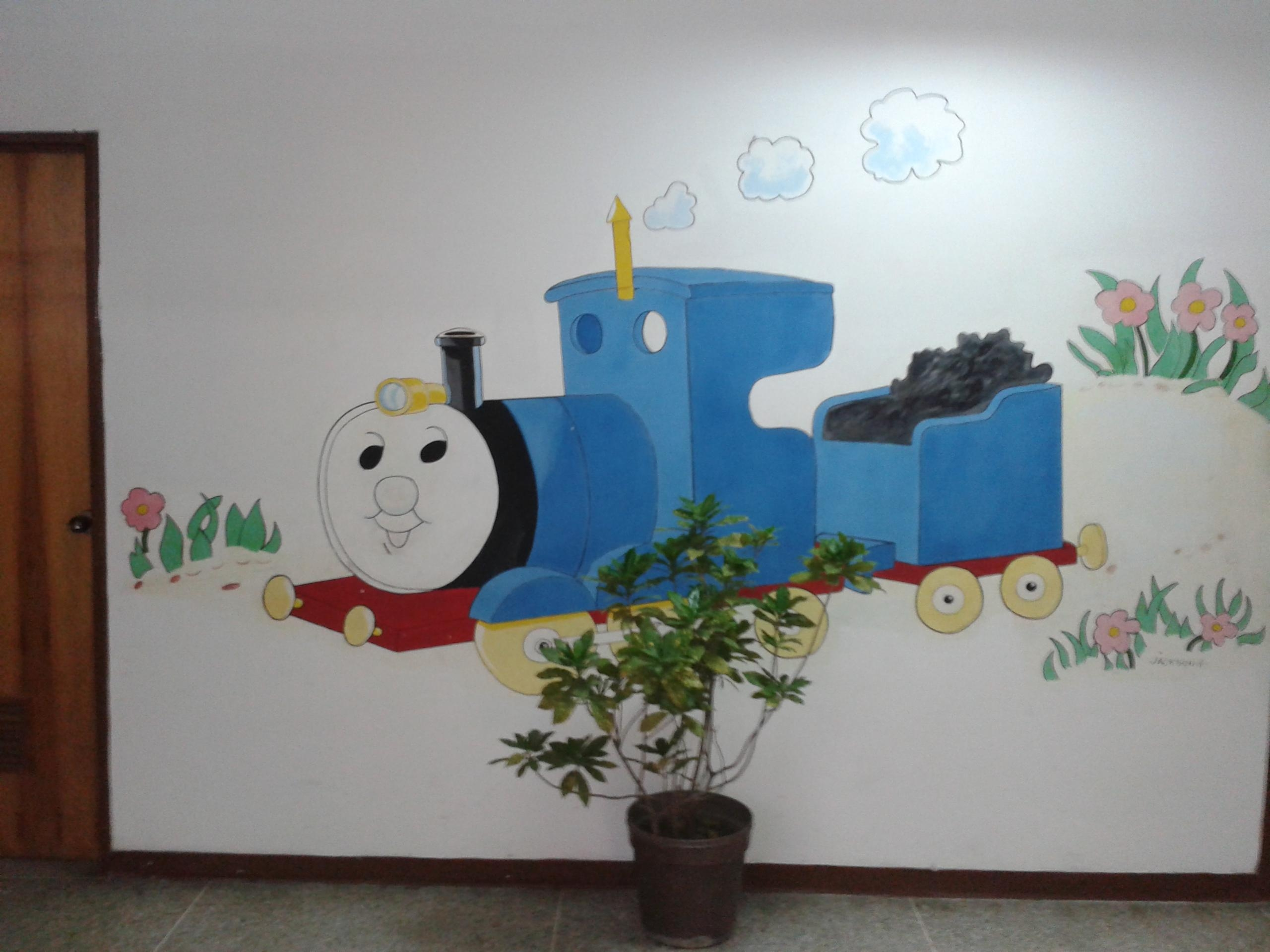Bootleg Thomas The Tank Engine : Funny With Thomas The Tank Wall Art (Image 5 of 20)