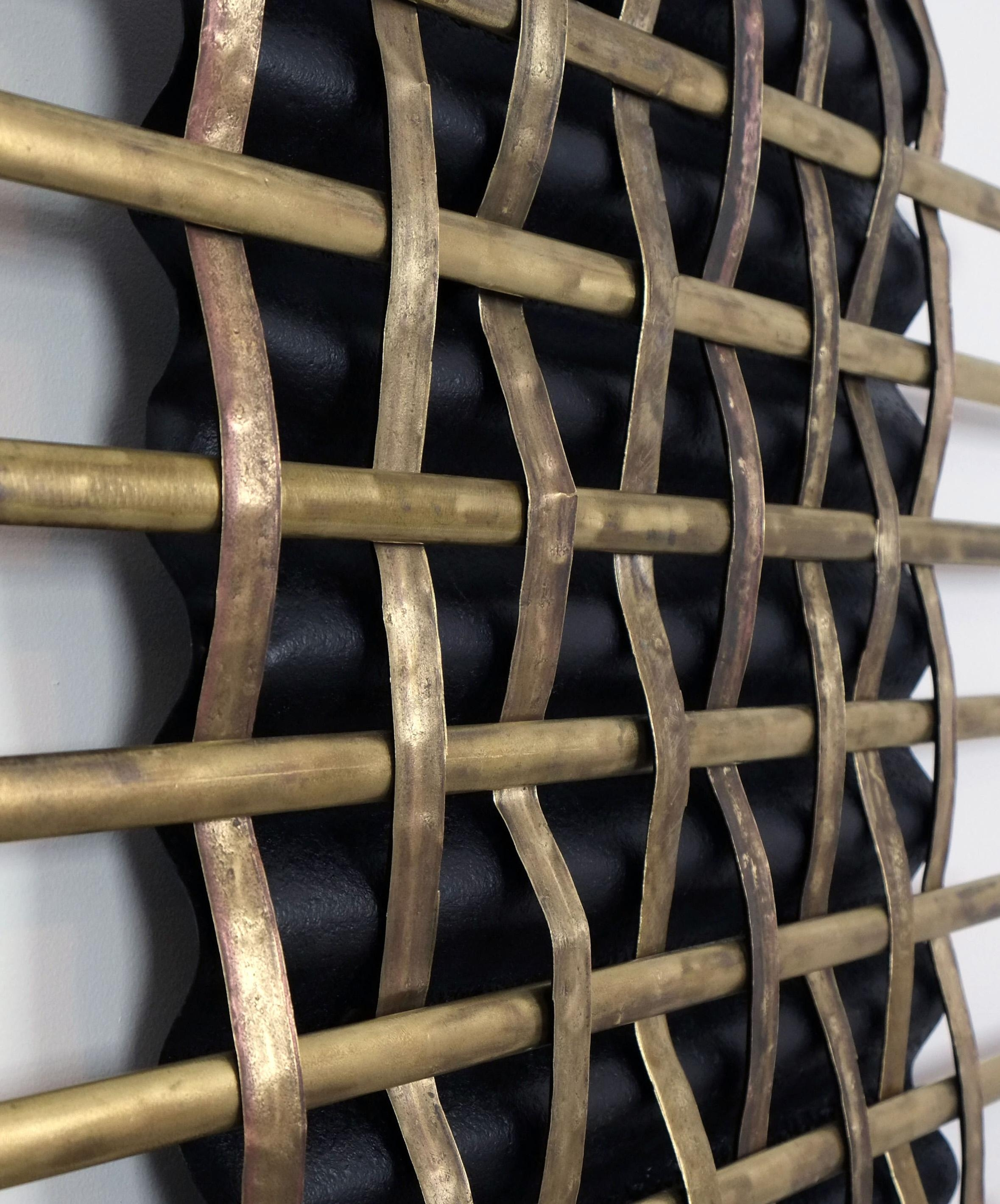 Featured Photo of Woven Metal Wall Art