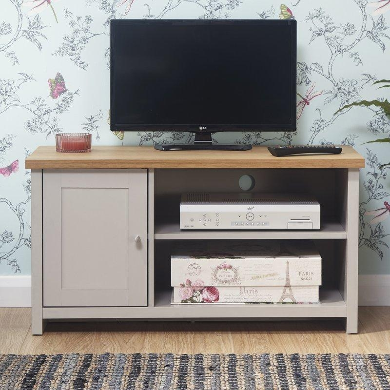 "Breakwater Bay Waples Small Tv Stand For Tvs Up To 39"" & Reviews In Best And Newest Small Tv Stands (Image 10 of 20)"