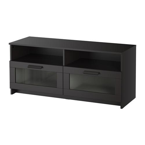 Brimnes Tv Unit – Black – Ikea With Most Popular Large Black Tv Unit (View 17 of 20)