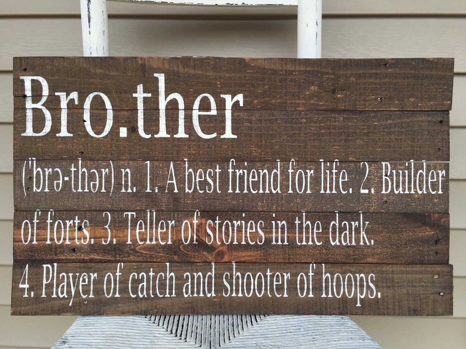 Featured Image of Brother Definition Wall Art