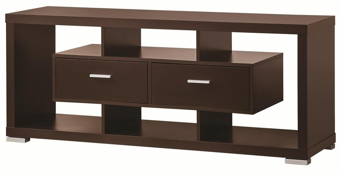 Brown Wood Tv Stand – Steal A Sofa Furniture Outlet Los Angeles Ca Regarding Most Recently Released Wood Tv Stands (Image 7 of 20)