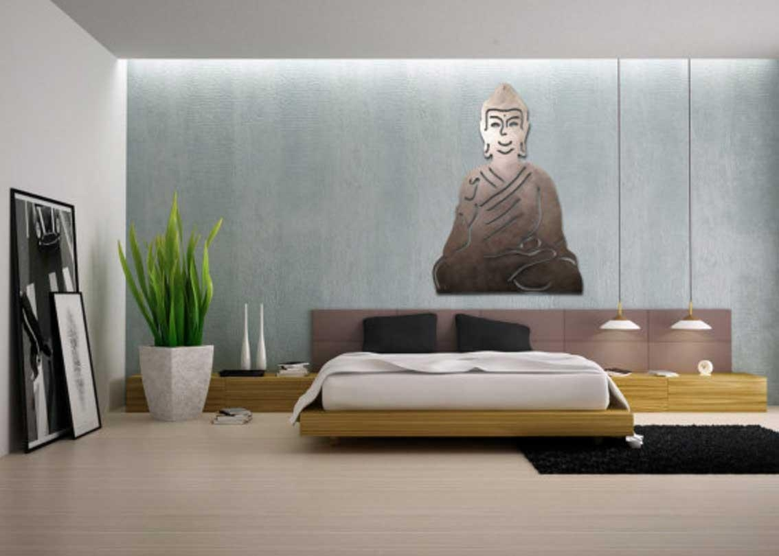 Buddha Outdoor Wall Art With Large Relief | Home Interior & Exterior For Buddha Outdoor Wall Art (Image 2 of 20)
