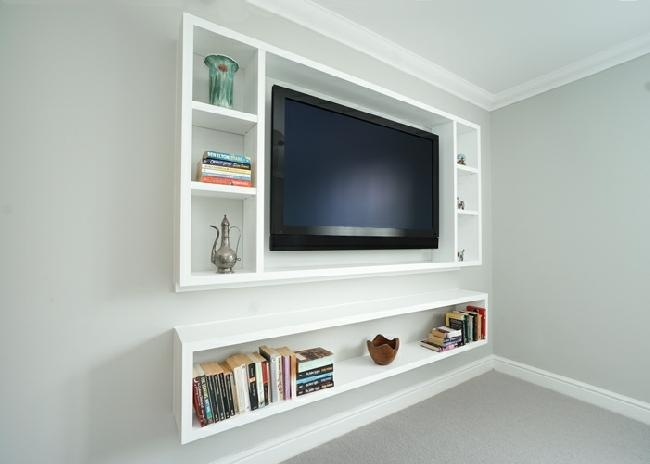 Built In Tv Media Units With Most Current Bespoke Tv Cabinets (View 14 of 20)